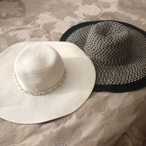 Two sun hats - ANY 4 $10 ITEMS FOR $25